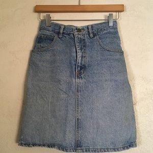 Guess Skirts - Vintage Guess blue denim skirt 5f4d2895f9b70